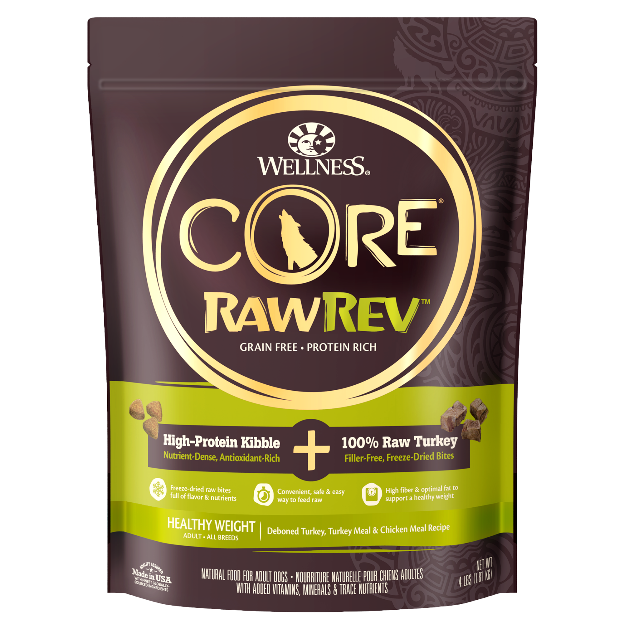 Core 174 Rawrev Healthy Weight 100 Raw Turkey