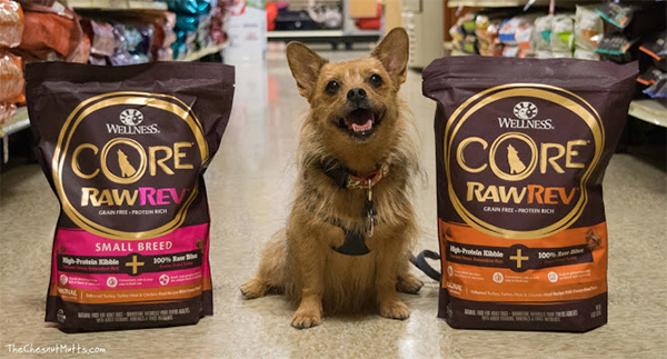 chestnut mutts and wellness CORE dog food